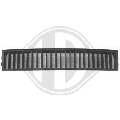 Grille de ventilation, pare-chocs - Diederichs Germany - 7805045