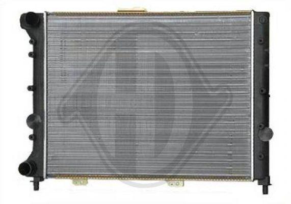Radiateur, refroidissement du moteur - HDK-Germany - 77HDK8100121