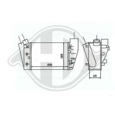 Intercooler, échangeur - HDK-Germany - 77HDK8101709