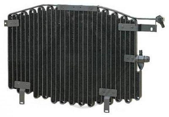 Condenseur, climatisation - Diederichs Germany - 8102200