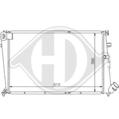 Radiateur, refroidissement du moteur - HDK-Germany - 77HDK8104158