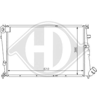 Radiateur, refroidissement du moteur - HDK-Germany - 77HDK8104160