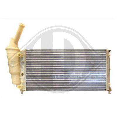 Radiateur, refroidissement du moteur - Diederichs Germany - 8109212