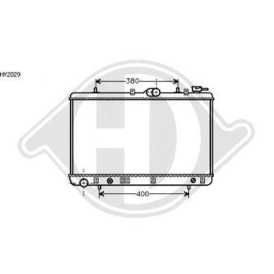 Radiateur, refroidissement du moteur - HDK-Germany - 77HDK8112114