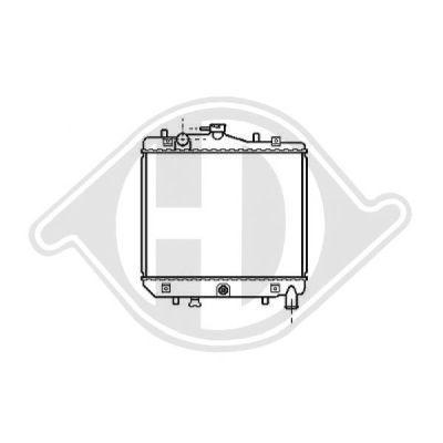 Radiateur, refroidissement du moteur - Diederichs Germany - 8115103