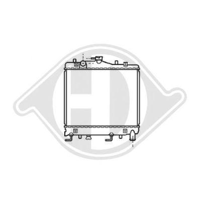 Radiateur, refroidissement du moteur - Diederichs Germany - 8115104