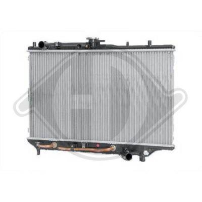 Radiateur, refroidissement du moteur - Diederichs Germany - 8120120