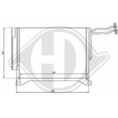 Condenseur, climatisation - Diederichs Germany - 8120500
