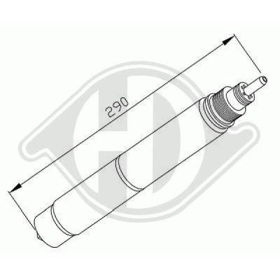 Filtre déshydratant, climatisation - HDK-Germany - 77HDK8120501