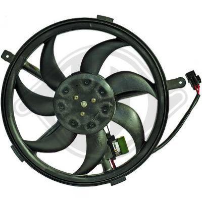 Ventilateur, refroidissement du moteur - Diederichs Germany - 8120602