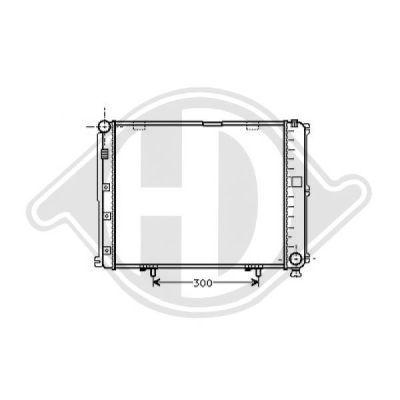 Radiateur, refroidissement du moteur - Diederichs Germany - 8121111
