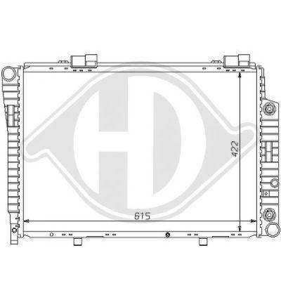 Radiateur, refroidissement du moteur - HDK-Germany - 77HDK8121147