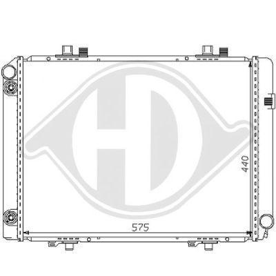 Radiateur, refroidissement du moteur - HDK-Germany - 77HDK8121156