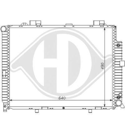 Radiateur, refroidissement du moteur - HDK-Germany - 77HDK8121161
