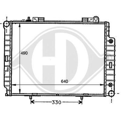 Radiateur, refroidissement du moteur - HDK-Germany - 77HDK8121164