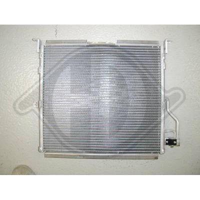 Condenseur, climatisation - Diederichs Germany - 8121300