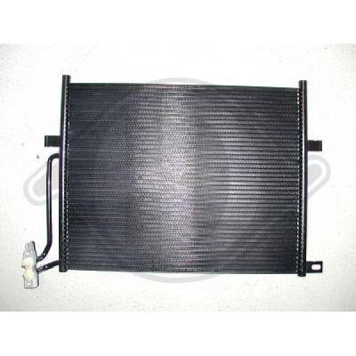 Condenseur, climatisation - Diederichs Germany - 8121400
