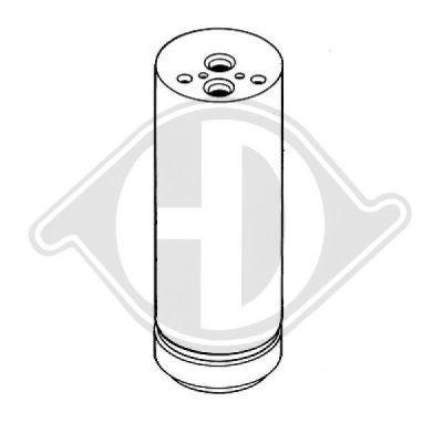 Filtre déshydratant, climatisation - Diederichs Germany - 8121402