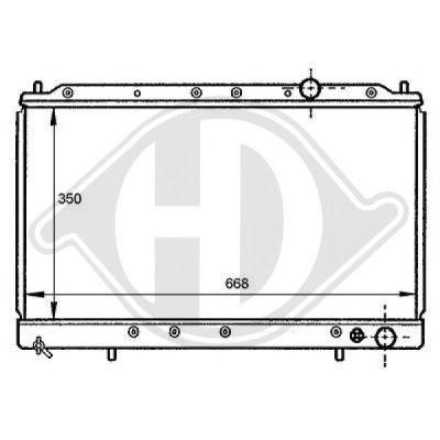 Radiateur, refroidissement du moteur - HDK-Germany - 77HDK8122130