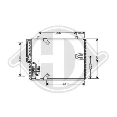 Condenseur, climatisation - Diederichs Germany - 8122200