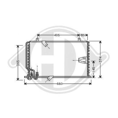 Condenseur, climatisation - Diederichs Germany - 8122201
