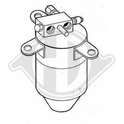 Filtre déshydratant, climatisation - Diederichs Germany - 8122203