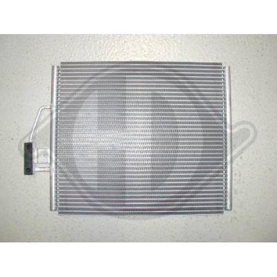 Condenseur, climatisation - Diederichs Germany - 8122300