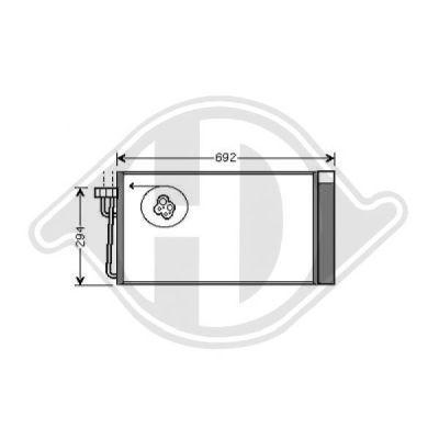 Condenseur, climatisation - HDK-Germany - 77HDK8122401