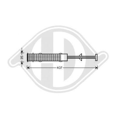 Filtre déshydratant, climatisation - HDK-Germany - 77HDK8122402