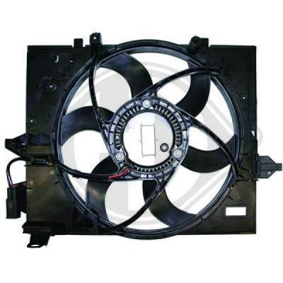 Ventilateur, refroidissement du moteur - Diederichs Germany - 8122407