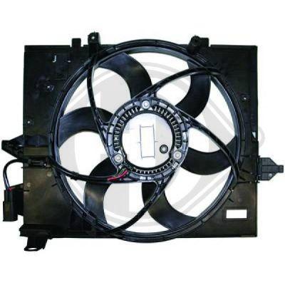 Ventilateur, refroidissement du moteur - HDK-Germany - 77HDK8122409