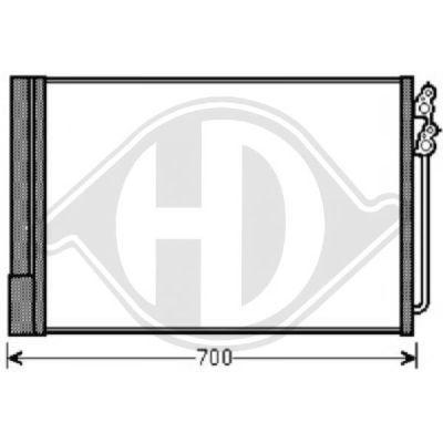 Condenseur, climatisation - Diederichs Germany - 8122500