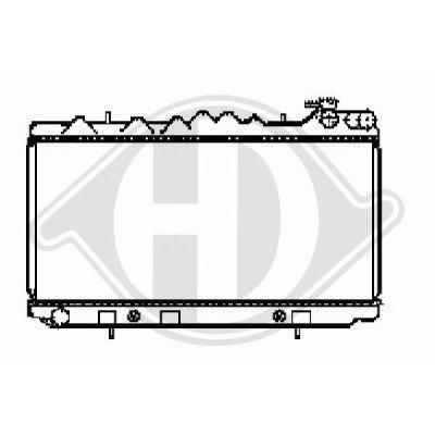 Radiateur, refroidissement du moteur - HDK-Germany - 77HDK8124152