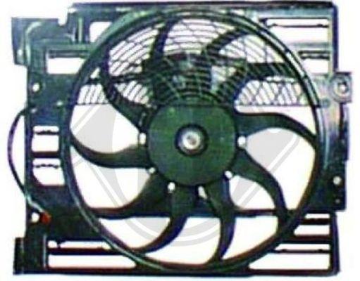 Ventilateur, refroidissement du moteur - HDK-Germany - 77HDK8124203