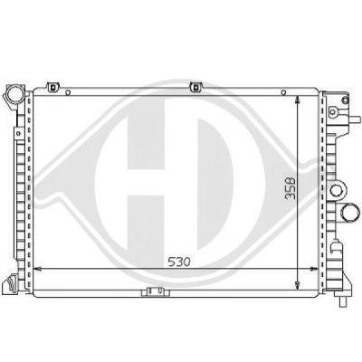Radiateur, refroidissement du moteur - HDK-Germany - 77HDK8125179