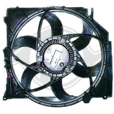 Ventilateur, refroidissement du moteur - Diederichs Germany - 8127501
