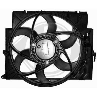 Ventilateur, refroidissement du moteur - Diederichs Germany - 8128002