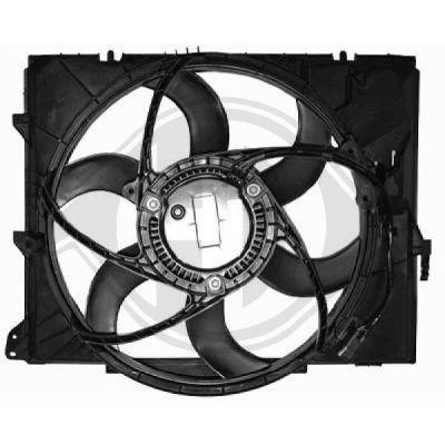 Ventilateur, refroidissement du moteur - Diederichs Germany - 8128003