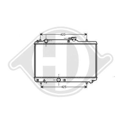 Radiateur, refroidissement du moteur - HDK-Germany - 77HDK8136120
