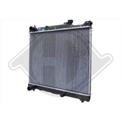Radiateur, refroidissement du moteur - Diederichs Germany - 8136122