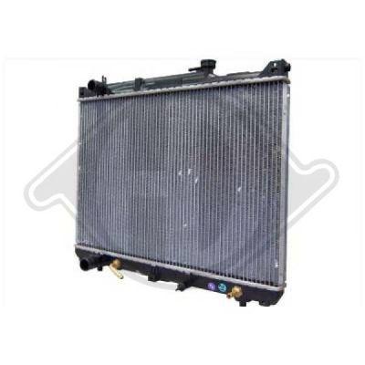 Radiateur, refroidissement du moteur - Diederichs Germany - 8136123