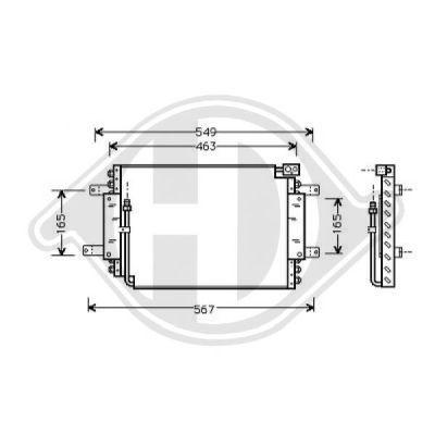 Condenseur, climatisation - HDK-Germany - 77HDK8136124