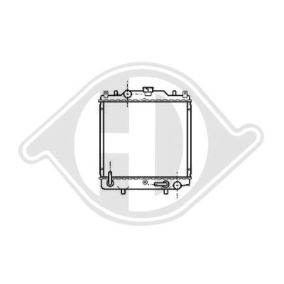Radiateur, refroidissement du moteur - HDK-Germany - 77HDK8136137