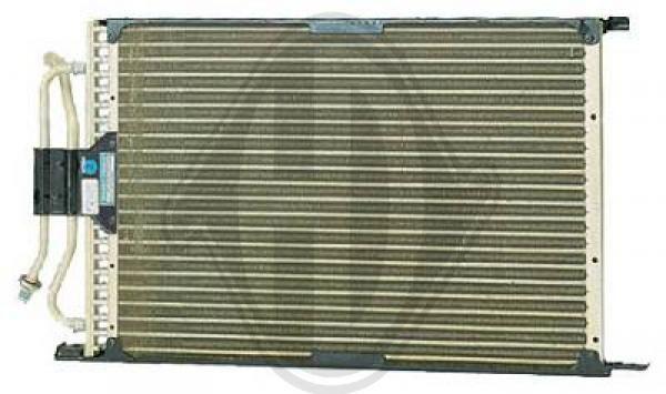 Condenseur, climatisation - Diederichs Germany - 8140300