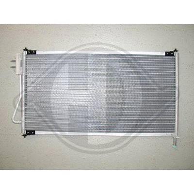 Condenseur, climatisation - Diederichs Germany - 8141500