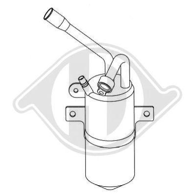Filtre déshydratant, climatisation - Diederichs Germany - 8141501