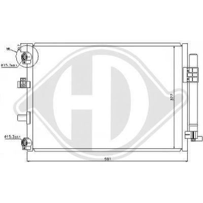 Condenseur, climatisation - HDK-Germany - 77HDK8141800