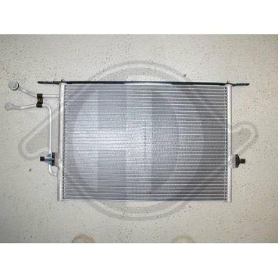 Condenseur, climatisation - HDK-Germany - 77HDK8142500