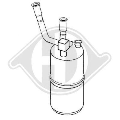Filtre déshydratant, climatisation - Diederichs Germany - 8142501
