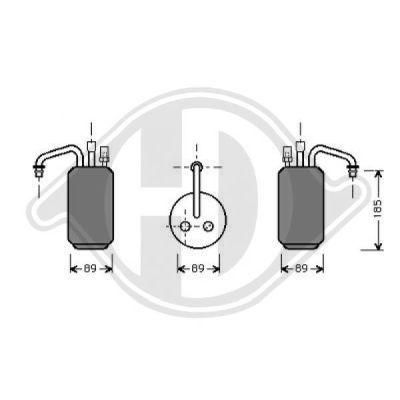 Filtre déshydratant, climatisation - HDK-Germany - 77HDK8142502